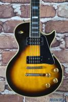 1981 Gibson Les Paul Custom Electric Guitar Tobacco Sunburst