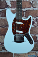 Squier Vintage Modified Mustang Electric Guitar Sonic Blue