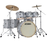 Tama Superstar Classic 7 Piece Drum Kit White Sparkle