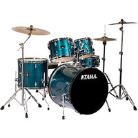 Tama Imperialstar 5 Piece Drum Kit Hairline Blue