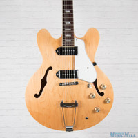 Epiphone Casino Hollow Body Electric Guitar Natural