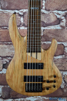 ESP LTD B-206SM 6 String Bass Guitar Natural Spalted Maple