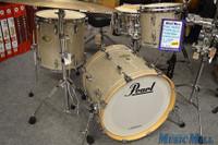 Pearl Masters Bop Drum Kit Silver Glitter