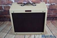 Fender Blues Junior Tube Guitar Combo Amp Blonde Oxblood