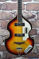 Vintage Univox Violin Bass Copy Sunburst