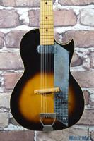 Vintage Kay Value Leader K1961 Electric Guitar Sunburst