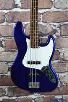 Fender Standard Jazz Bass Guitar Ocean Blue Metallic