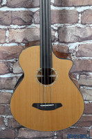 B-Stock Breedlove Solo Fretless Acoustic Electric Bass Guitar