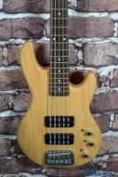 G&L L-2500 Tribute 5 String Bass Guitar Natural