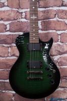 Ibanez ART300 Artist Electric Guitar Green Caiman