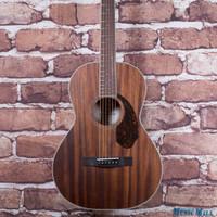 Fender Paramount PM‑2 Standard All‑Mahogany Parlor Acoustic Guitar