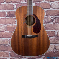 Fender Paramount PM-1 Standard All-Mahogany Dreadnought Acoustic Guitar