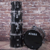 '80s Tama Japan Granstar 5PC Drum Kit Black