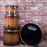 Ludwig Element 4 PC Drum Kit Dark Cherry Sunburst