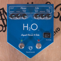 Visual Sound H2O Liquid Chorus and Echo Pedal