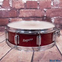 Vintage Rogers Tower Snare Drum Red Sparkle