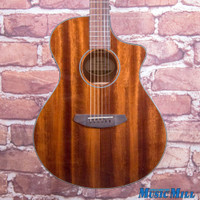 B-Stock Breedlove Discovery Concert CE MH Acoustic Electric Guitar Natural