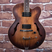 Ibanez Artcore AF55 Hollow Body Electric Guitar Tobacco Flat