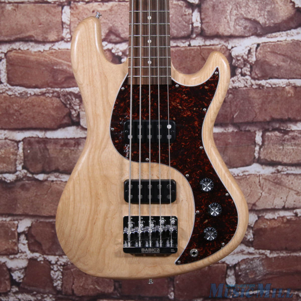Gibson EB 5-String Electric Bass Guitar Natural
