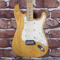 1989 Fender Strat Plus Deluxe Electric Guitar Natural