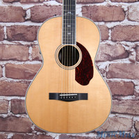 B-Stock Fender PM-2 Deluxe Parlor Acoustic Electric Guitar Natural