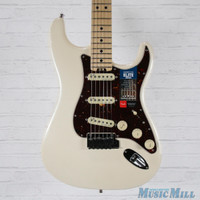 B-Stock Fender American Elite Stratocaster Electric Guitar Olympic Pearl