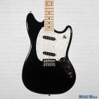 2016 Fender Offset Series Mustang Electric Guitar Black