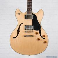 Washburn HB-35 Semi Hollow Electric Guitar Natural