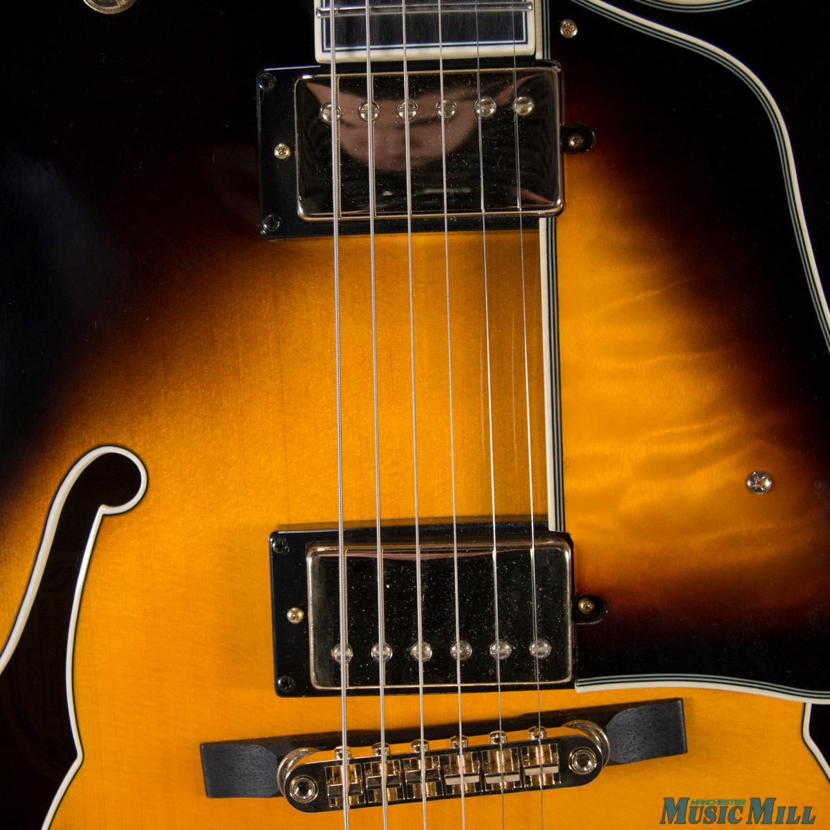 Ibanez LGB30 George Benson Signature Hollow Body Electric Guitar Vintage Yellow Sunburst