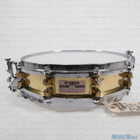 Yamaha SD-493 Brass Piccolo Snare Drum 3.5x14