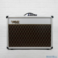Vox AC15 Custom Tube Guitar Combo Amp Limited Edition White Bronco