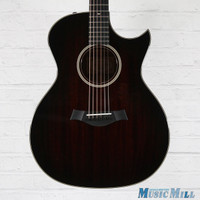 2017 Taylor 524ce Florentine Grand Auditorium Acoustic Electric Guitar Shaded Edgeburst