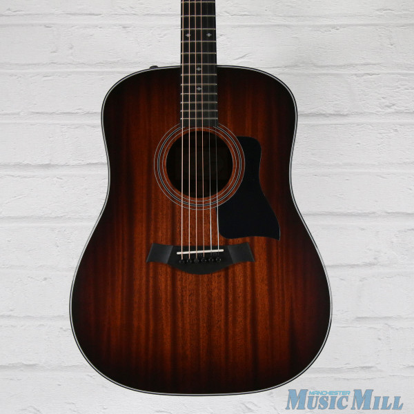 2016 Taylor 320e Dreadnought Acoustic Guitar Shaded Edgeburst