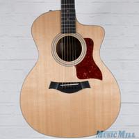 2016 Taylor 214ce-DLX Grand Auditorium Acoustic Electric Guitar