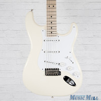 2012 Fender Eric Clapton Stratocaster Electric Guitar Olympic White