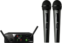 AKG WMS40 Mini Dual Vocal Wireless Microphone System