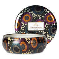 VOLUSPA - Crane Flower 3 Wick Tin Candle - 12 oz