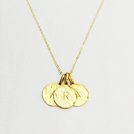 Charlene K Intial Pendant with Multiple Letters