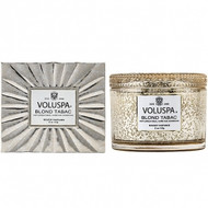 NEW - VOLUSPA - Blond Tabac Boxed Candle 11oz