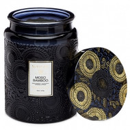 VOLUSPA - Moso Bamboo Glass Jar Candle  16oz
