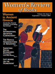 Women's Review of Books Volume 24, Issue 5