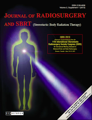Journal of Radiosurgery and SBRT Supplement Volume 2, Supplement 1