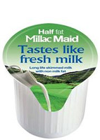 Millac Maid Half Fat Portioned Pots