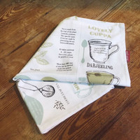Tea Towels - Tea Facts