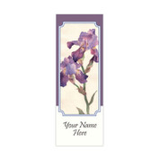 Watercolor Iris Banner