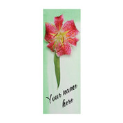 Watercolor Tiger Lily Banner