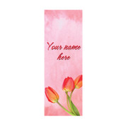 Watercolor Tulips Banner