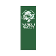 Farmer's Market Vegetable Basket Banner