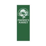 Farmer's Market Vegetable Basket Banner