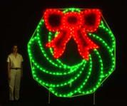 8 Ft. Wreath (C7 LED)